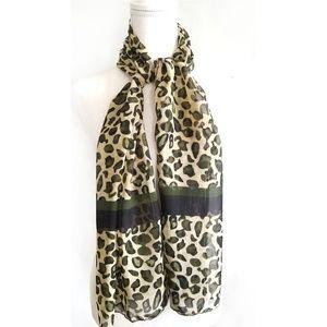 🍁 Leopard Animal Print scarf